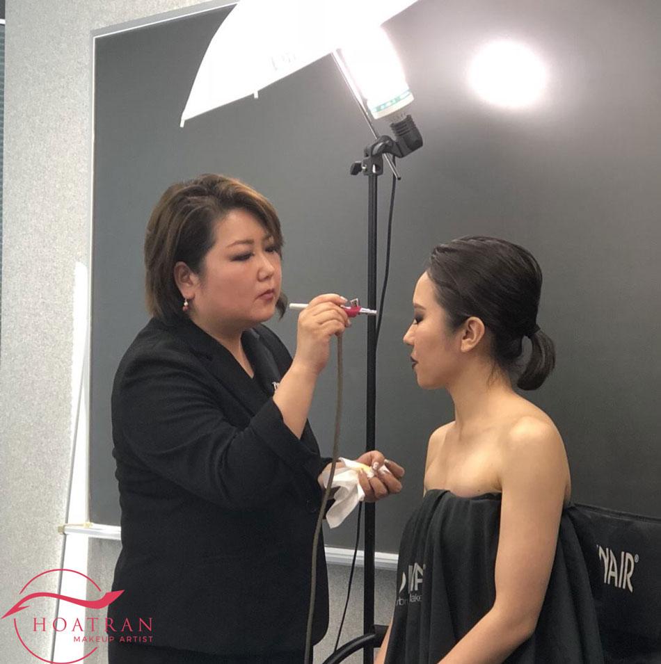 Kazu sonoko airbrush makeup hoatranmakeup