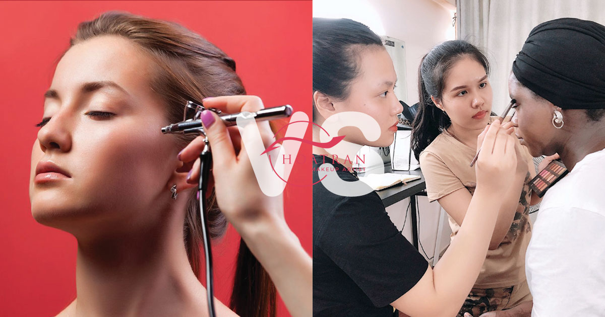 Điểm khác biệt giữa Airbrush makeup và trang điểm truyền thống