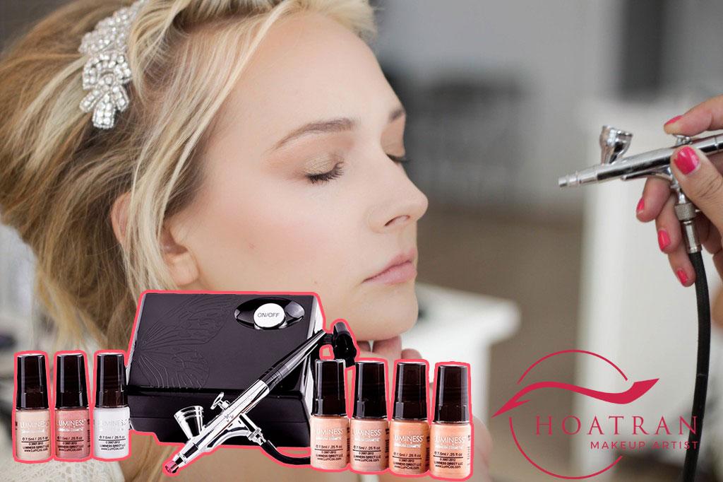 AirBrush Makeup là gì, ưu và nhược điểm