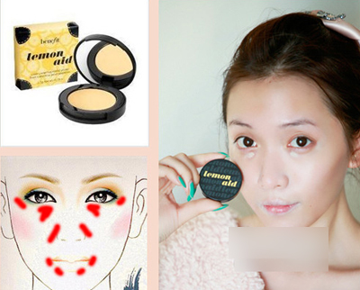 Sử dụng kem che khuyết điểm để che quầng thâm cho mắt (ảnh minh họa)