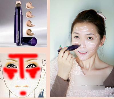 Sử dụng kem nền để che quầng thâm cho mắt (ảnh minh họa)