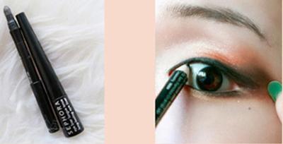 Bạn có thể dùng chì kẻ mắt để mắt trông to hơn (ảnh minh họa)