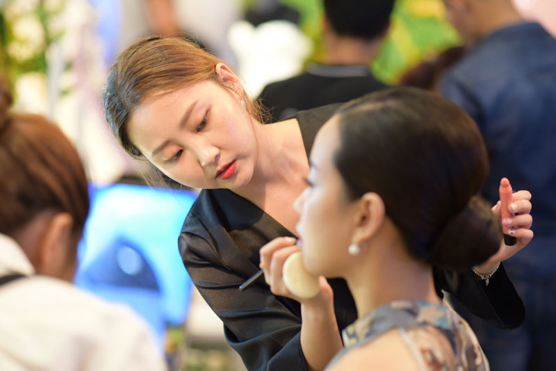 Giảng viên Park So Yeon Makeup Korean Style